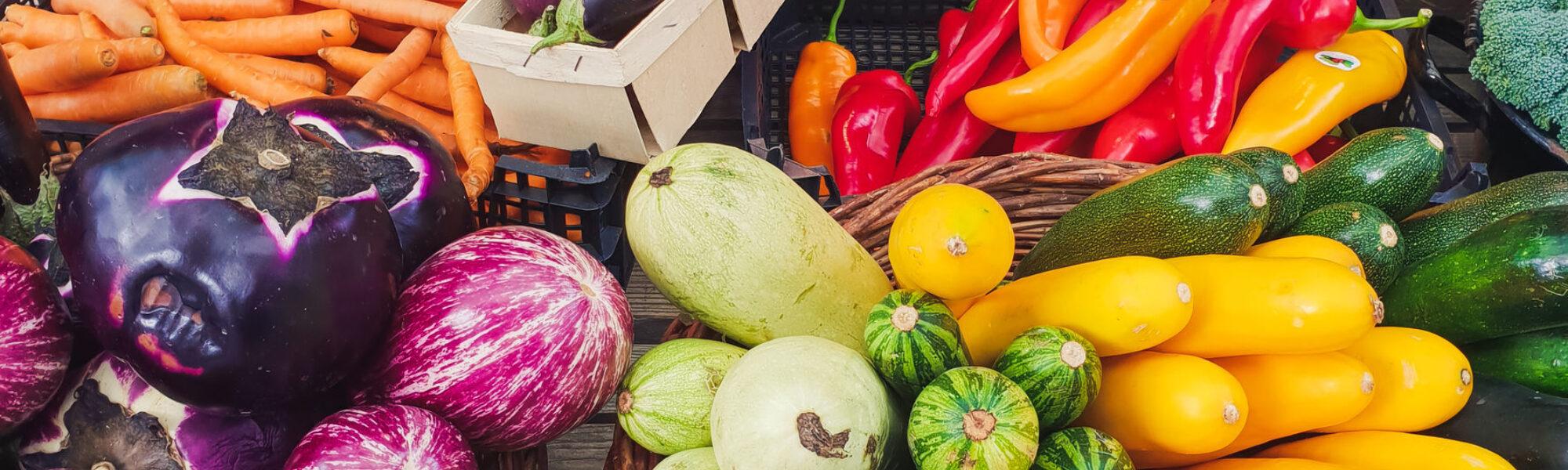 Gemüsemarkt am Graben