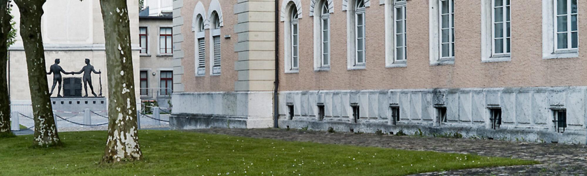 Kaserne mit Zeughaus