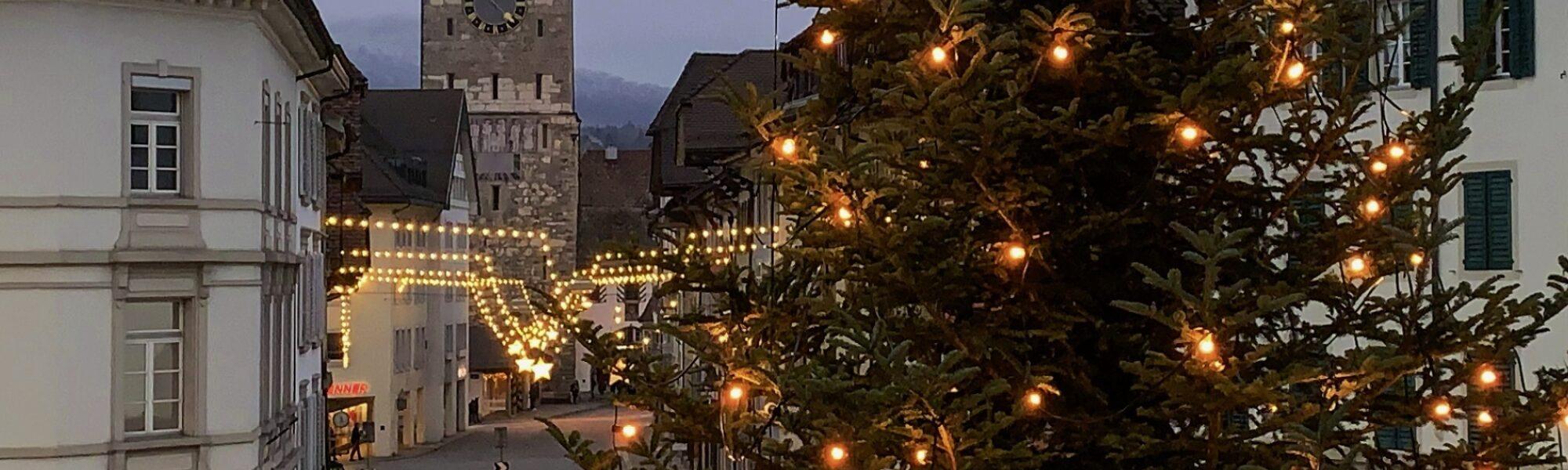 Spannende Konzepte für den Weihnachtsmarkt Aarau 2022 gesucht