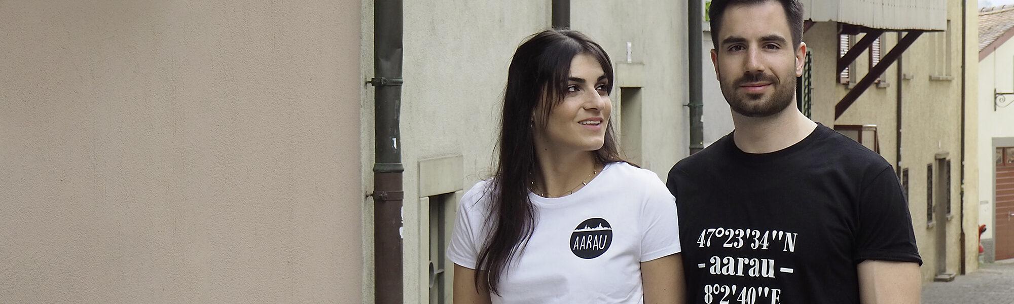 Aarauer T-Shirt mit Sujet