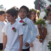 Tradition Maienzug Kinder