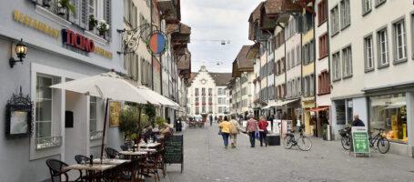 Einkaufen Rathausgasse Aarau