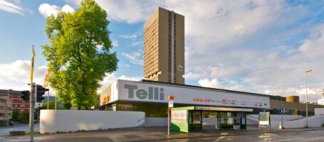 Einkaufszentrum Telli Aarau