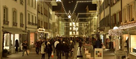 Night Shopping Aarau