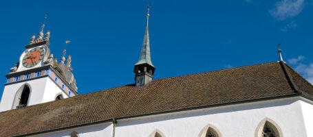 Sehenswürdigkeit Stadtkirche Aarau