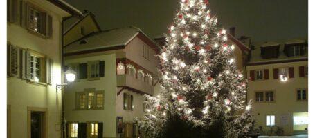 Winterfotos Kirchplatz