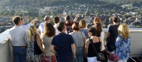 Stadtfuehrung Aus der Hoehe Aarau