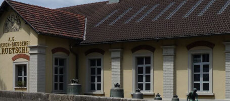 Sehenswuerdigkeit Glockengiesserei Gebäude Aarau