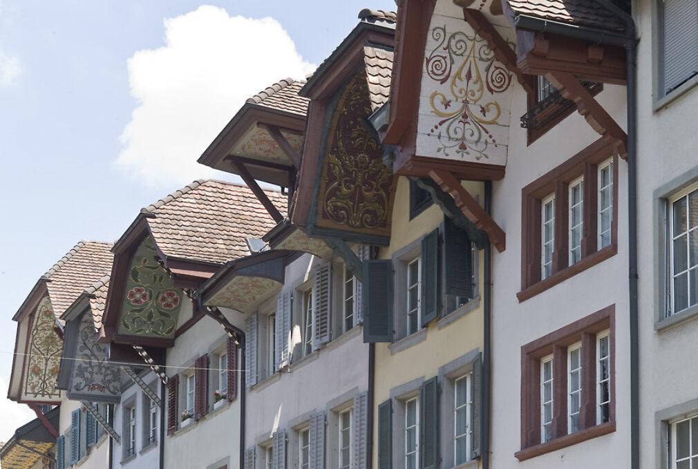 Aarau - Stadt der schönen Giebel