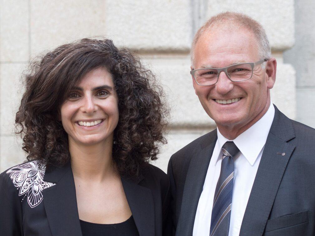 Danièle Turkier & Daniel Lüscher