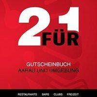 2 Für 1 Gutscheinbuch Aarau Und Umgebung